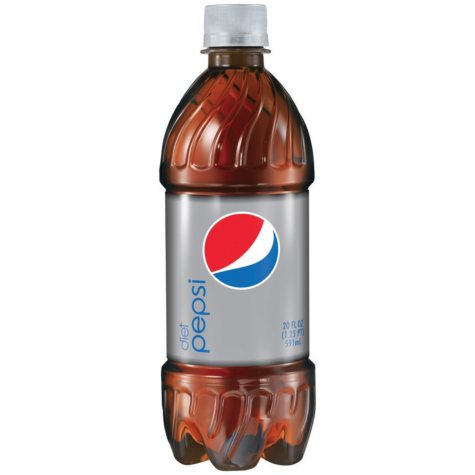 Diet Pepsi (20 oz. bottles, 24 ct.)