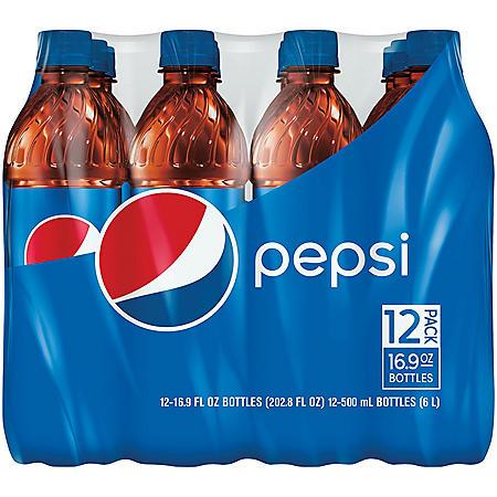 Pepsi Cola (16.9oz / 12pk)