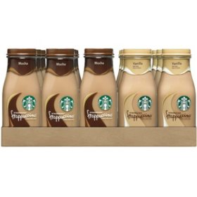 Starbucks Frappuccino Coffee Drink, Mocha (9.5 oz. bottles, 15 pk.)
