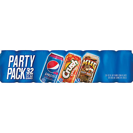Pepsi Party Pack (12oz / 32pk)