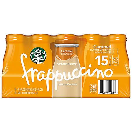 Starbucks Frappuccino Coffee Drink Caramel (9.5oz / 15pk)
