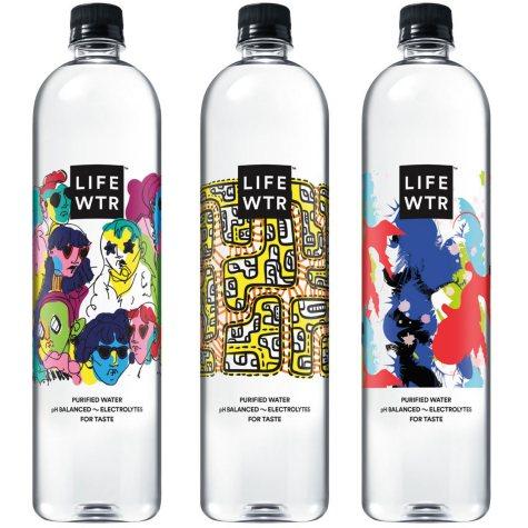 LIFEWTR Premium Purified Water (1L bottles, 12 pk.)
