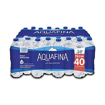 Aquafina Purified Water (16.9oz / 40pk)
