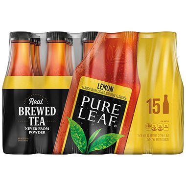 PURE LEAF LEMON 15 / 18.5 OZ BOTTLES