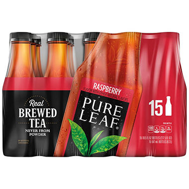 Pure Leaf Raspberry Iced Tea (18.5 oz. bottles, 15 ct.)