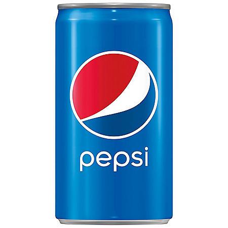 Pepsi Mini Cans (7.5oz / 18pk)