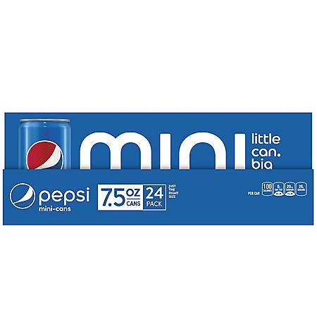 Pepsi Mini (7.5oz / 24pk)