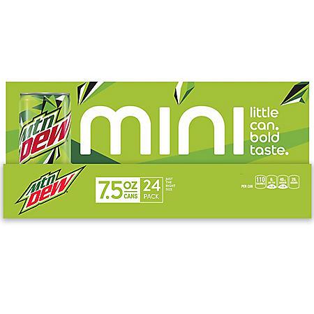 Mountain Dew Mini (7.5oz / 24pk)