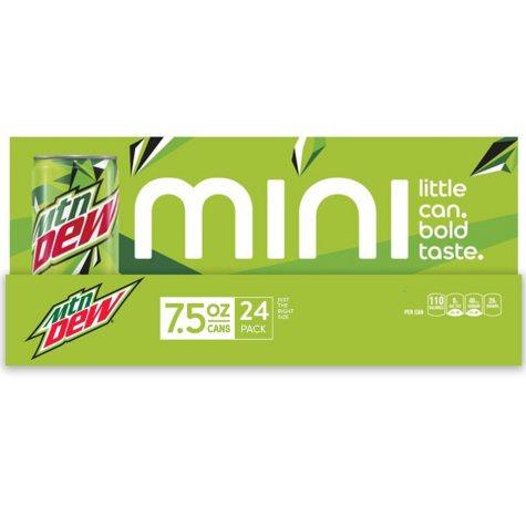 Mountain Dew Mini Can (24 pk.)