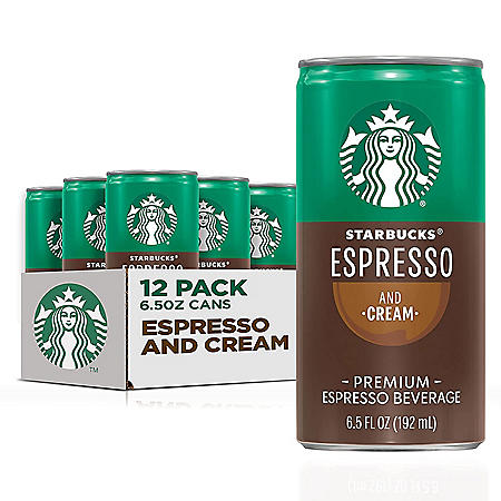 Starbucks DoubleShot Espresso (6.5 fl. oz., 12 ct.)