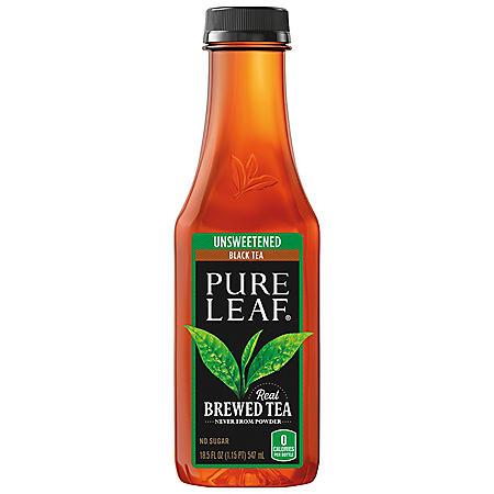 Pure Leaf Unsweetened Iced Black Tea (18.5 fl. oz.)