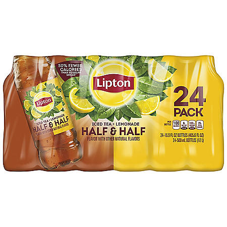 Lipton Half & Half Iced Tea & Lemonade (16.9oz / 24pk)