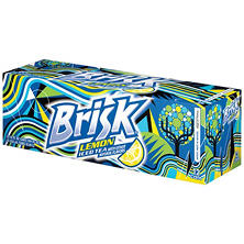 Lipton Brisk Lemon Iced Tea (12 oz. cans, 12 pk.)