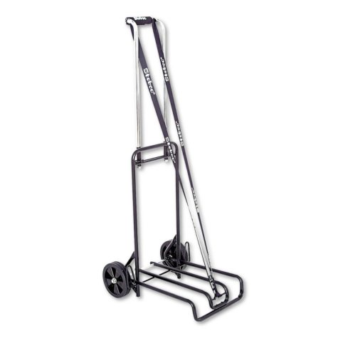 bugatti Business Cart, 250lb Capacity, Black/Chrome