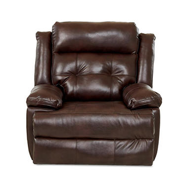 Klaussner XL Performance Zeus Reclining Chair