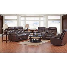 XL Performance Deluxe 3-Piece Set: Reclining Sofa, Loveseat and Chair (Assorted Colors)