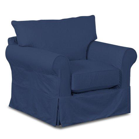 Klaussner Kari Slipcovered Chair (Assorted Colors)