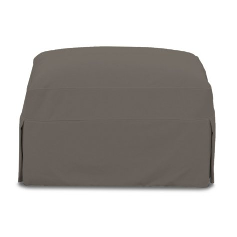 Klaussner Madison Slipcovered Ottoman (Assorted Colors)