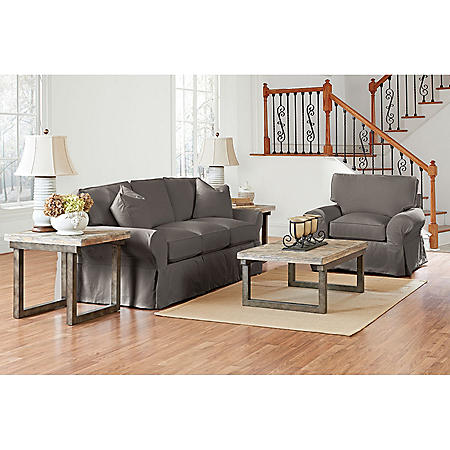 Klaussner Madison Slipcoverd Living Room Collection (Assorted Colors)