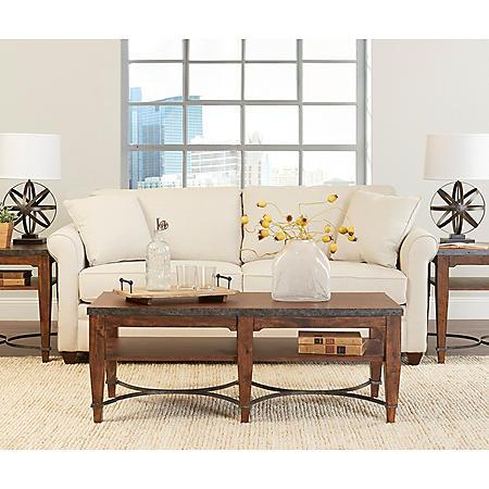 Klaussner Drake Sofa (Assorted Colors)