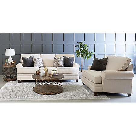 Klaussner Frankie Sofa and Accent Chair Living Room Collection