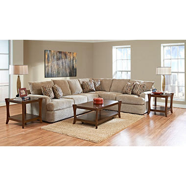 Klaussner Fairfield Sectional Collection
