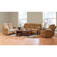 Crawford Reclining Sofa, Reclining Loveseat and Reclining Chair Collection