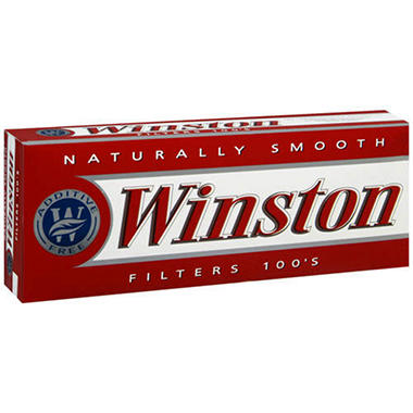 Winston Filters 100's - 200 ct.
