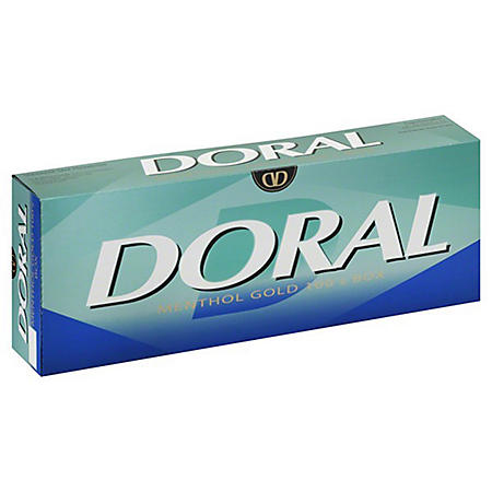 Doral Gold Menthol 100s Box (20 ct., 10 pk.)