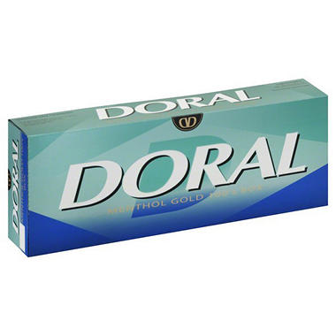 Doral Menthol Lights 100's - 200 ct.