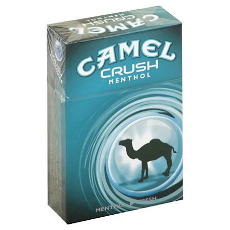 Camel Crush Menthol 85s Box (20 ct., 10 pk.) $0.50 Off Per Pack