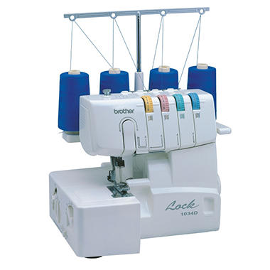 Brother 1034D Serger with Easy Lay-In Threading
