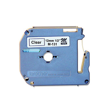 Brother P-Touch - M Series Tape Cartridge for P-Touch Labelers, 1/2