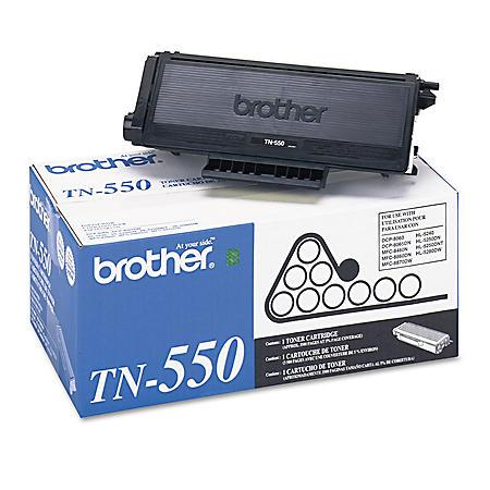 Brother TN 550/560/580 Series Toner Cartridge, Black, Select Type