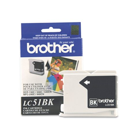 Brother LC51 Ink Cartridge, Select Color (500 Page Yield)
