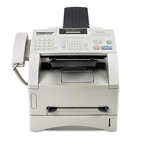 Brother IntelliFAX 4100E Laser Fax with Print, Copy and Telephone