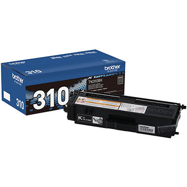 Brother TN310 Series Toner Cartridge, Select Color/Type