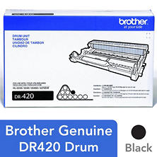 Brother DR-420 Drum Unit, Black (12,000 Page Yield)