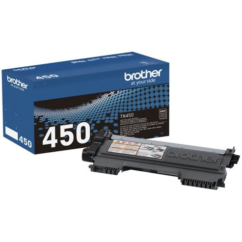 TN450 BLACK TONER HIGH-YIELD