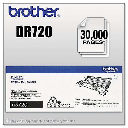 Brother DR-720 Drum Unit (30,000 Page Yield)