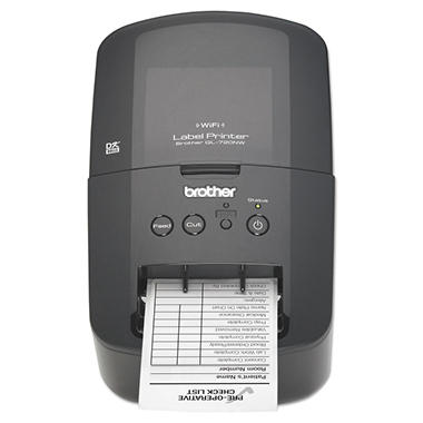 Brother - QL-720NW Label Printer, 93 Labels/Minute -  5w x 9-3/8d x 6h