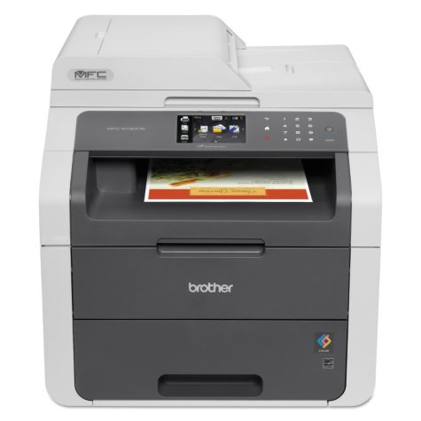 Brother MFC-9130CW All-in-One Color Laser Printer, Copy/Fax/Print/Scan
