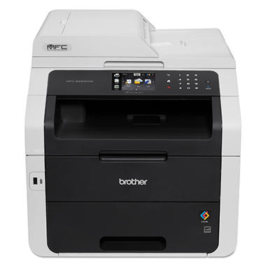 Brother MFC-9330CDW Wireless All-in-One Color Laser Printer - Copy/Fax/Print/Scan