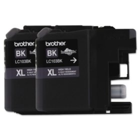 Brother LC1032PKS High-Yield Ink, Black (600 Page-Yield)