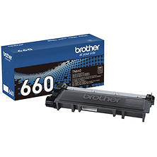 Brother - TN660 High Yield Toner Cartridge, Black
