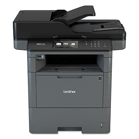 Brother MFC-L6700DW Monochrome All-in-One Laser Printer, Copy/Print/Scan