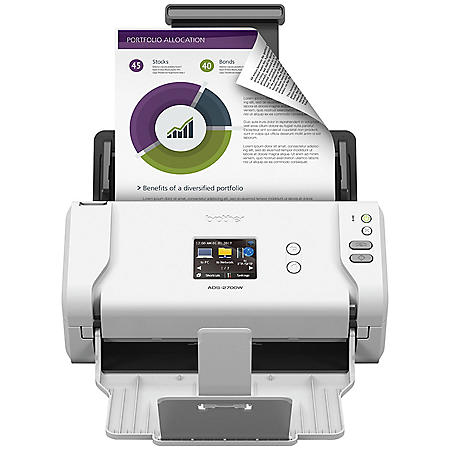 Brother ADS-2700W Scanner, 1200 x 1200dpi