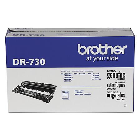 Brother DR730 Drum Unit, Black