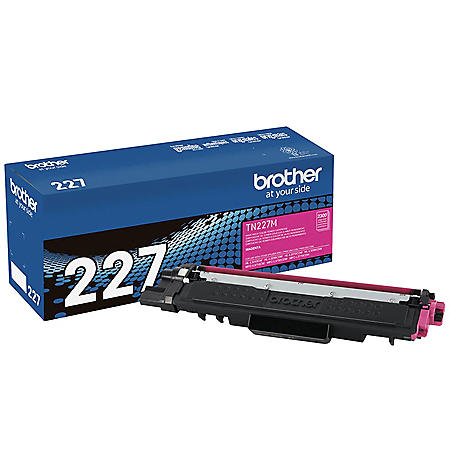 Brother TN227 High-Yield Toner, 2300 Page-Yield, Magenta