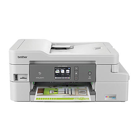 Brother Compact Color Inkjet All-in-One MFC-J995DWXL, Copy/Fax/Print/Scan